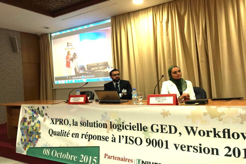 Atelier sur le thème:  ISO 9001-2015 au profit des entreprises de la Région SM
