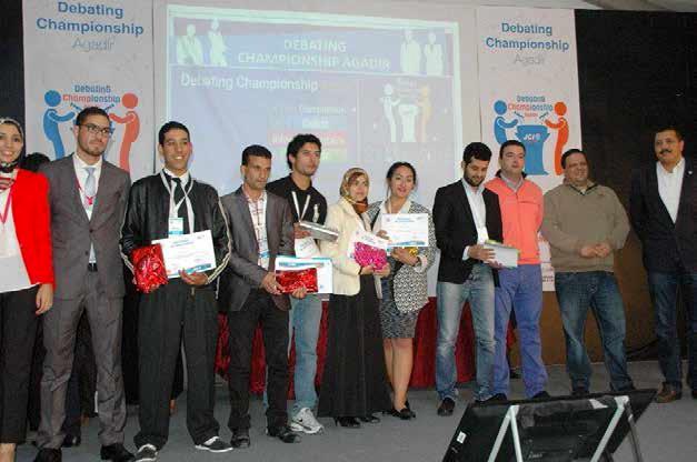 """Participation à la compétition """"DEBATING CHAMPIONSHIP"""" – Agadir"""