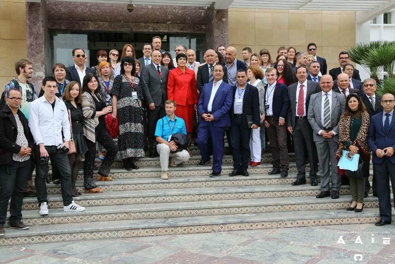 Délégation de journalistes russes en visite à Agadir