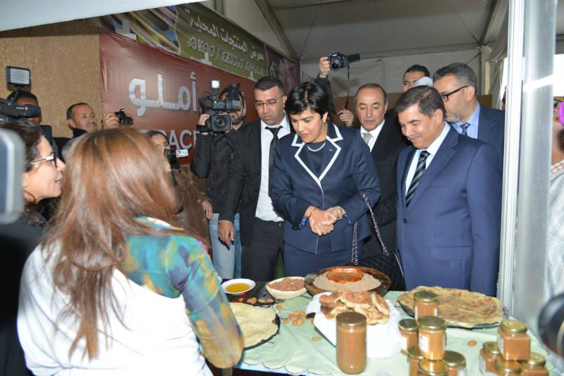 Inauguration de l'exhibition des produits du terroir à Tafraout