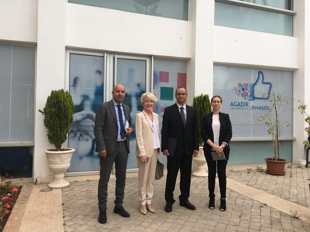 Visite au CRI de Madame l'Ambassadeur du Royaume deNorvègeau Maroc
