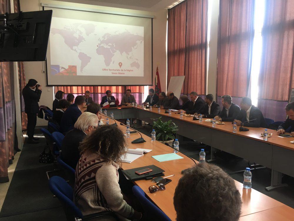Rencontre d'Affaires avec les entreprises françaises participantes au Salon Halieutis 2019