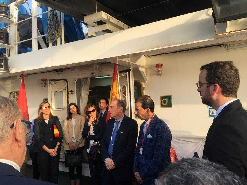 En marge du Salon Halieutis 2019: participation du CRI à l'inauguration de l'Antenne de la Chambre Espagnole de Commerce à Agadir