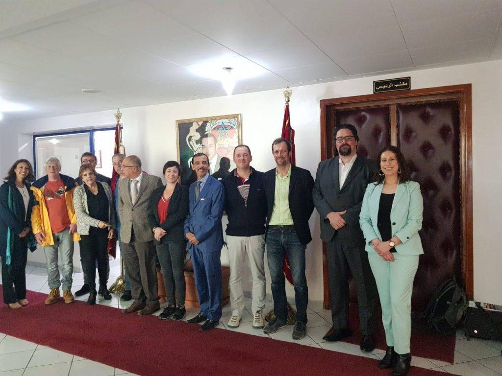 Visite d'une Délégation Pays de la Loire à Agadir