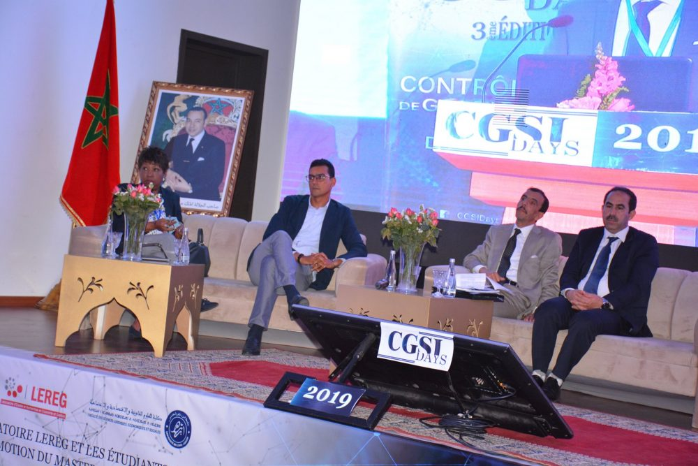 Participation du CRI Souss Massa à CGSI Days 2019