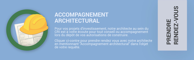 Prendre rendez-vous architecte centre régional d'investissement souss massa