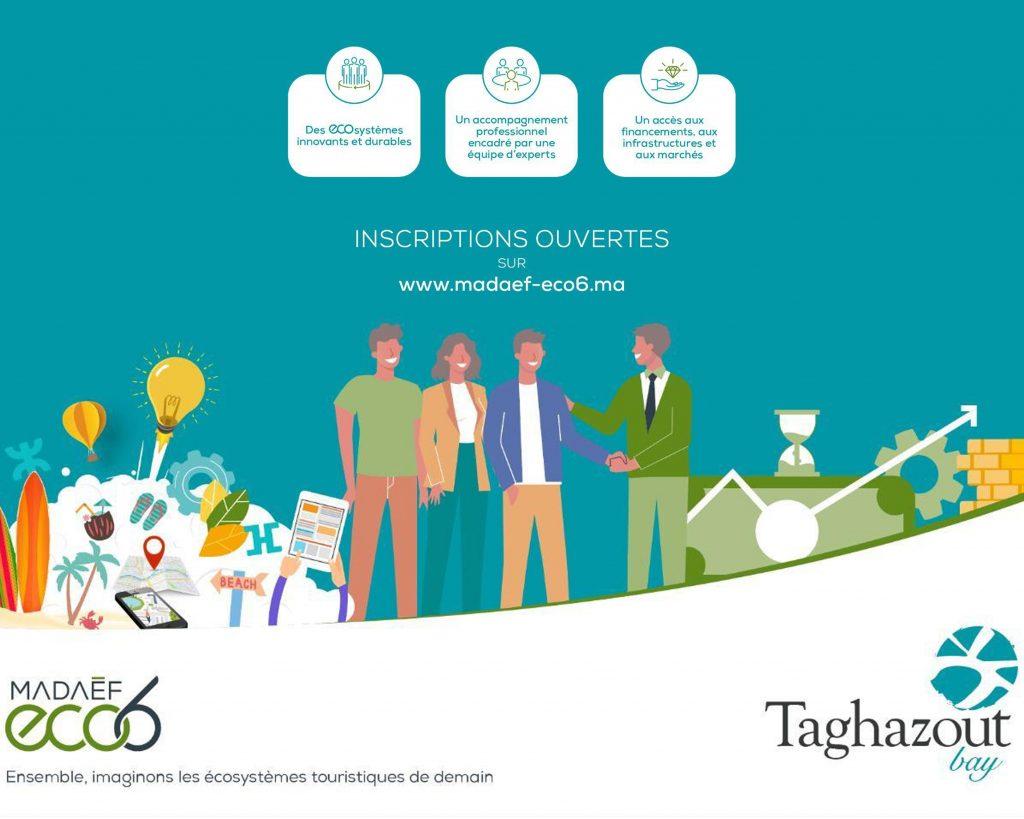Participez à la 1ère édition de Madaëf ECO6 à Taghazout Bay !